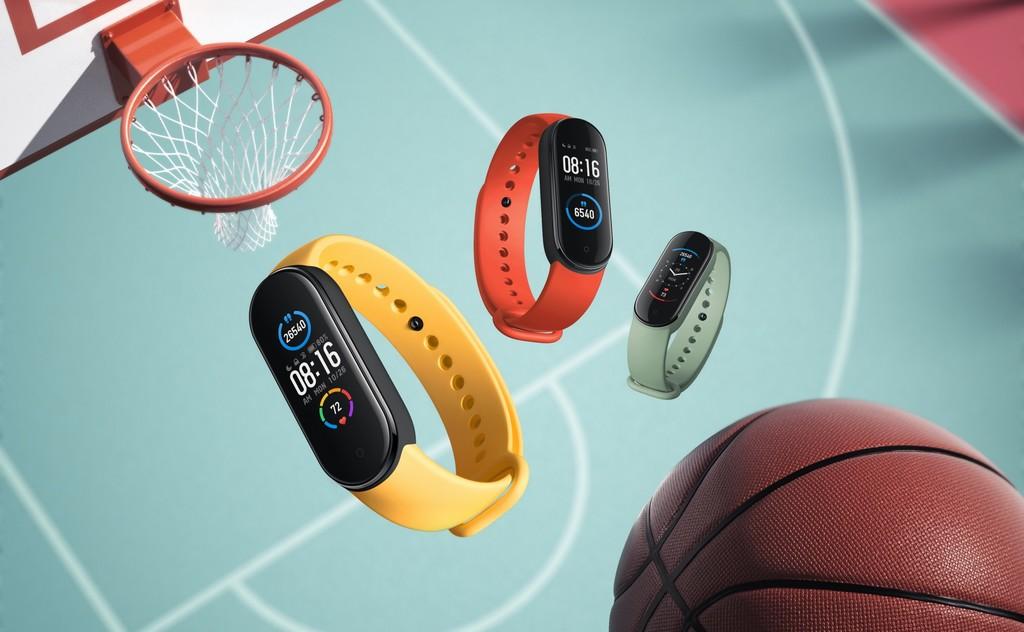 Xiaomi presenta su nueva pulsera cuantificadora Mi Smart Band 5, con más registros de ejercicio y seguimiento de la salud femenina