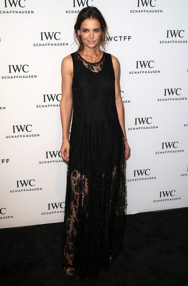 Melena despeinada y maquillaje impecable: el contraste de Katie Holmes que me ha consquistado