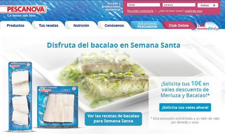 Pescanova te regala 10 euros para que disfrutes del bacalao en Semana Santa