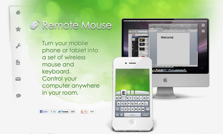 HTPC software - remote mouse