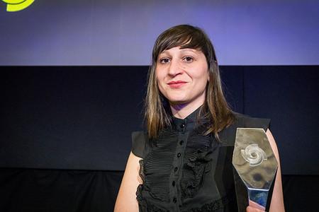 Myriam Meloni con el SWPA 2014
