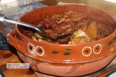 Receta: Adobo de cerdo al horno. Receta a la antigua.