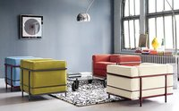 Nuevos colores para los sofás de Le Corbusier