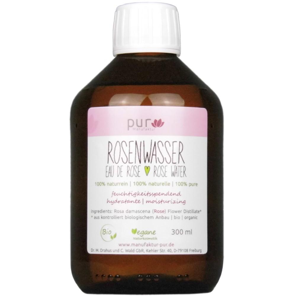 Agua de rosas Rosenwasser Manufaktur Pur