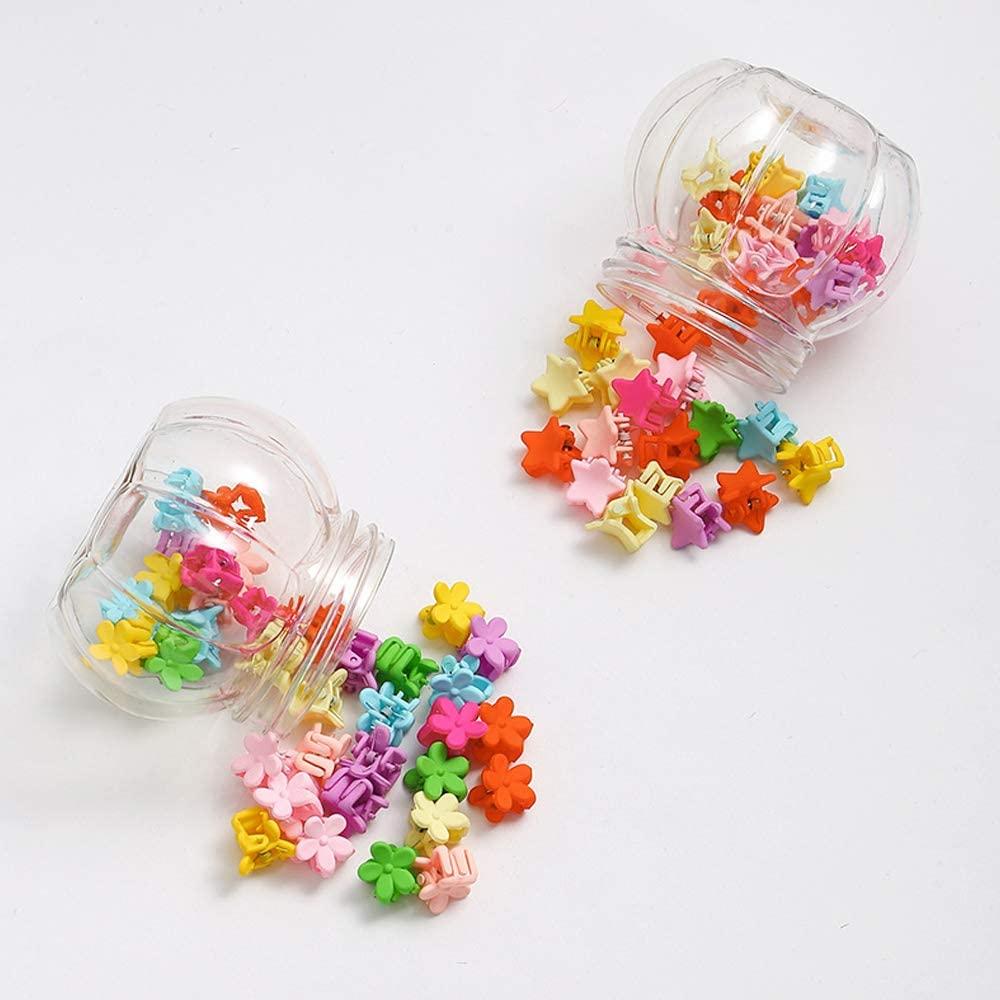 Pinzas pequeñas para el pelo de estrella y flores