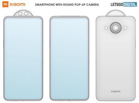 Xiaomi Mi Smartphone Ronde Pop Up Camera