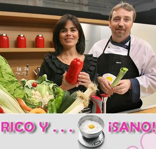 Rico y sano nuevo programa de cocina saludable en canal for Canal cocina en directo