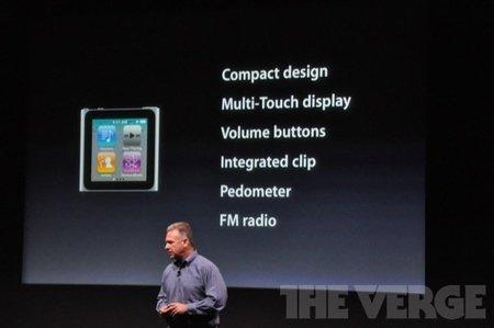 iPod Nano y iPod Touch, una significativa evolución anunciado en la keynote