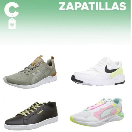 Chollos en tallas sueltas de  zapatillas Asics, Nike, New Balance o Adidas en Amazon