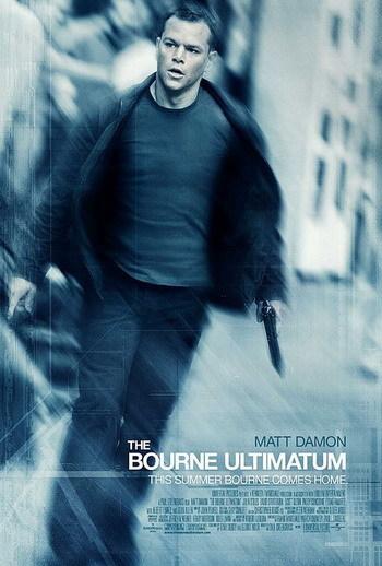 Otro póster de 'El Ultimátum de Bourne'