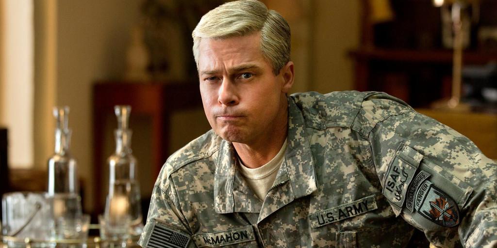 Brad Pitt Maquina Guerra