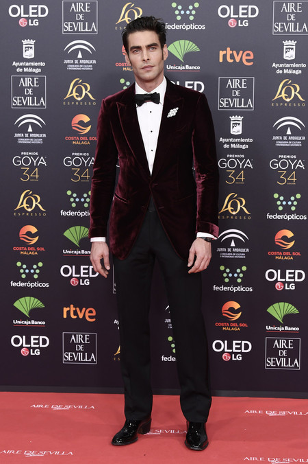 Jon Kortajarena Goya Cinema Awards 2020 Red Carpet 01