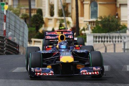 GP de Mónaco F1 2011: primeros libres movidos con Vettel delante