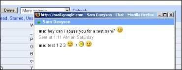 Emoticonos para GMail Chat desde Firefox