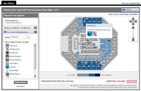 ¿En donde se sentaron tus amigos en el concierto?, Ticketmaster te lo dirá