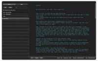 MyTexts, aplicación para escribir sin distracciones