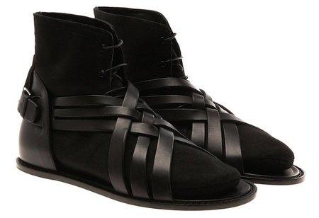 Sandalias con calcetin Dior Homme