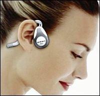 Auriculares que transmiten el sonido mediante vibraciones de nuestros huesos