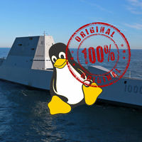 Seis millones de líneas de código de Linux son las que hacen funcionar al destructor USS Zumwalt (cuando lo hace)