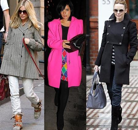 Los abrigos de invierno que ya se ponen las famosas
