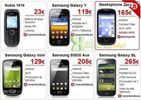 Pepephone estrena tienda de móviles libres junto a la renovación de su página web
