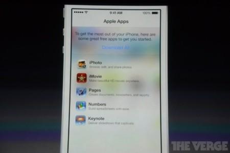 iOS 7 disponible el 18 de septiembre, de paso iWork y iLife para iOS gratis