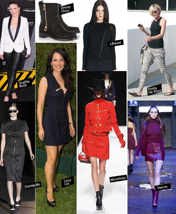 Cremalleras de moda