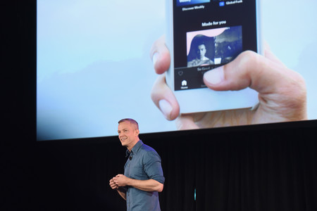 Spotify Chief R D Officer Gustav Soderstrom Introduces Spotify S New Ad Supported Mobile Version At A News Conference In New York 1