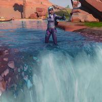 Guía Fortnite: visita diferentes cascadas en Fortnite. Todas las ubicaciones para completar el desafío de tiempo extra
