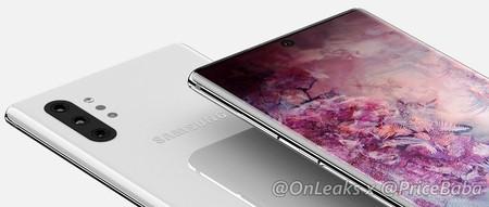 El Samsung Galaxy Note 10 Pro contará con agujero en pantalla y cuatro cámaras según una filtración