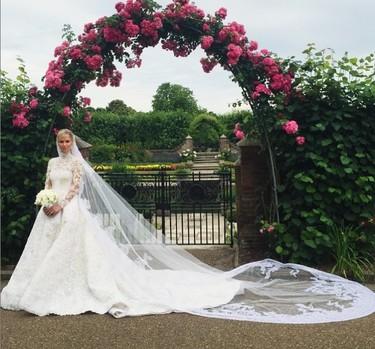 Nicky Hilton: una novia rica muy guapa, de Valentino y en Londres