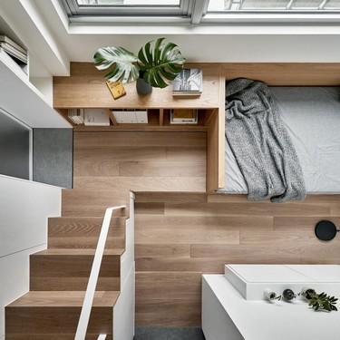 Este micro apartamento en Taiwan te va a sorprender por su belleza y funcionalidad