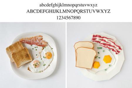 Comida tipografía - 2