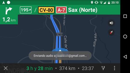 Google Maps Ruta Comandos De Voz