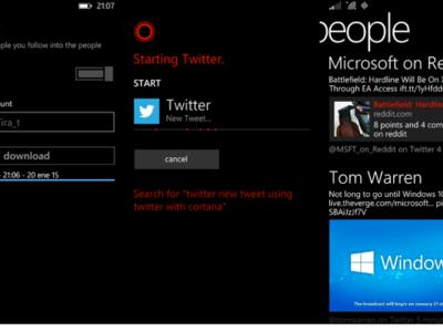 El infierno se congela: Twitter recibe una actualización en Windows Phone