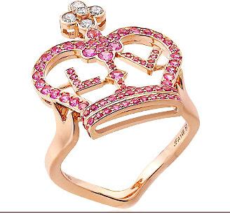 Más de la nueva colección de joyas de Louis Vuitton: Crown