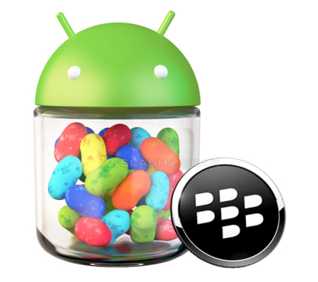 BlackBerry 10 promete soporte a aplicaciones Android 4.1 Jelly Bean