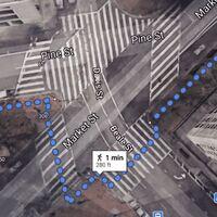 Google Maps mejora sus mapas con los peatones en el punto de mira: llegan pasos de peatones detallados y avisos de aglomeraciones