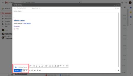 Programar Envio Correos Electronicos Gmail Web Mexico