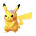 Pikachu Corona Flores