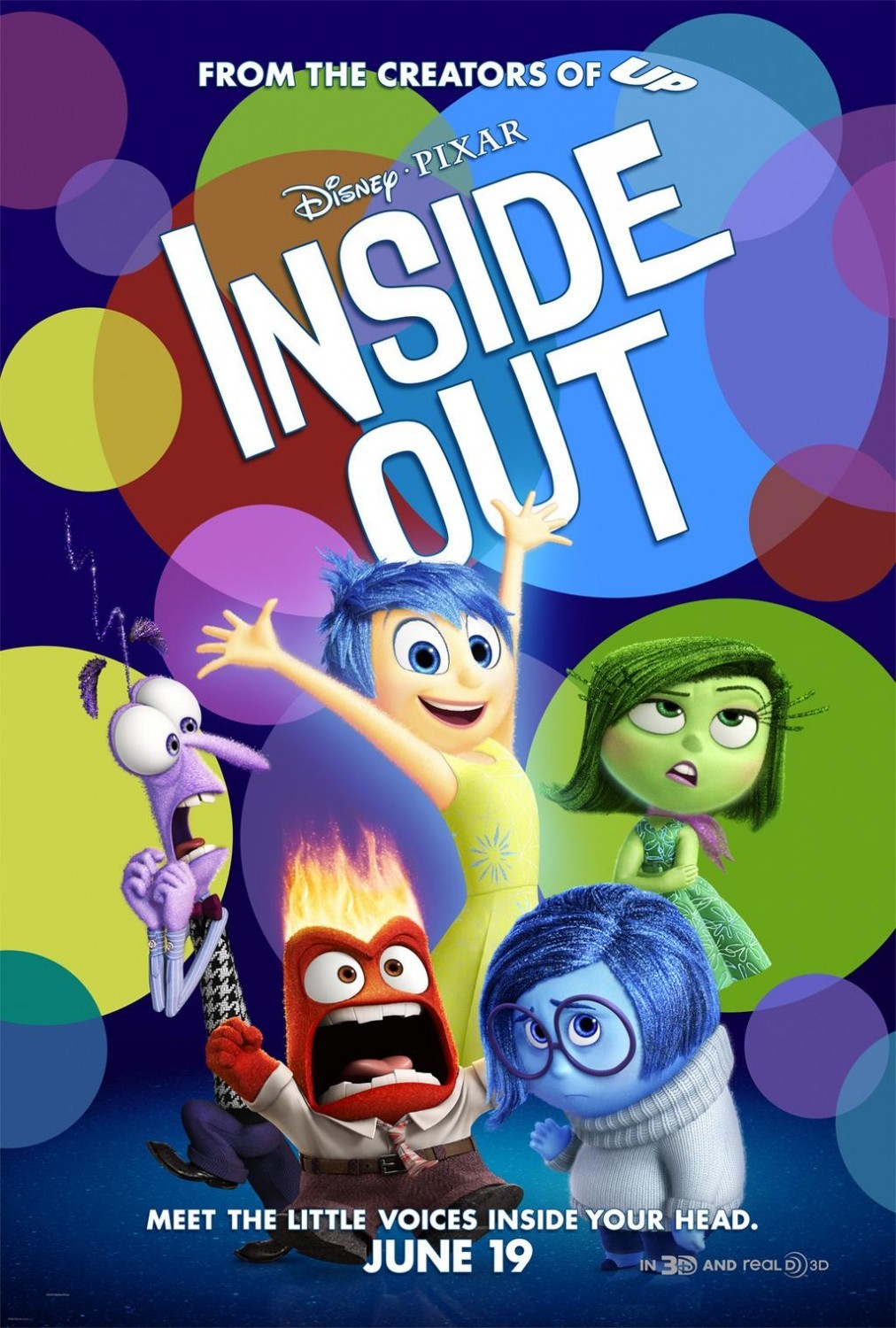Foto de 'Del revés' ('Inside Out'), carteles (13/22)