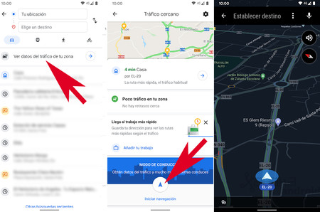 Modo De Conducción Maps