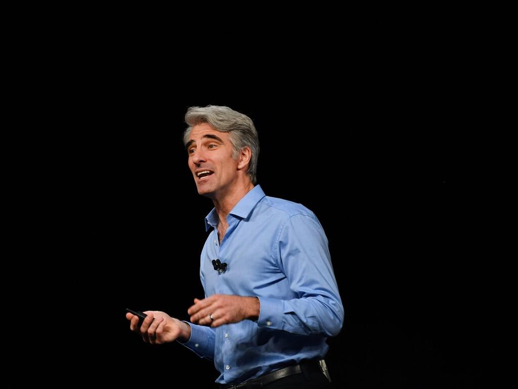 Craig Federighi habla de los cuatro principios básicos sobre la privacidad para Apple en una conferencia virtual