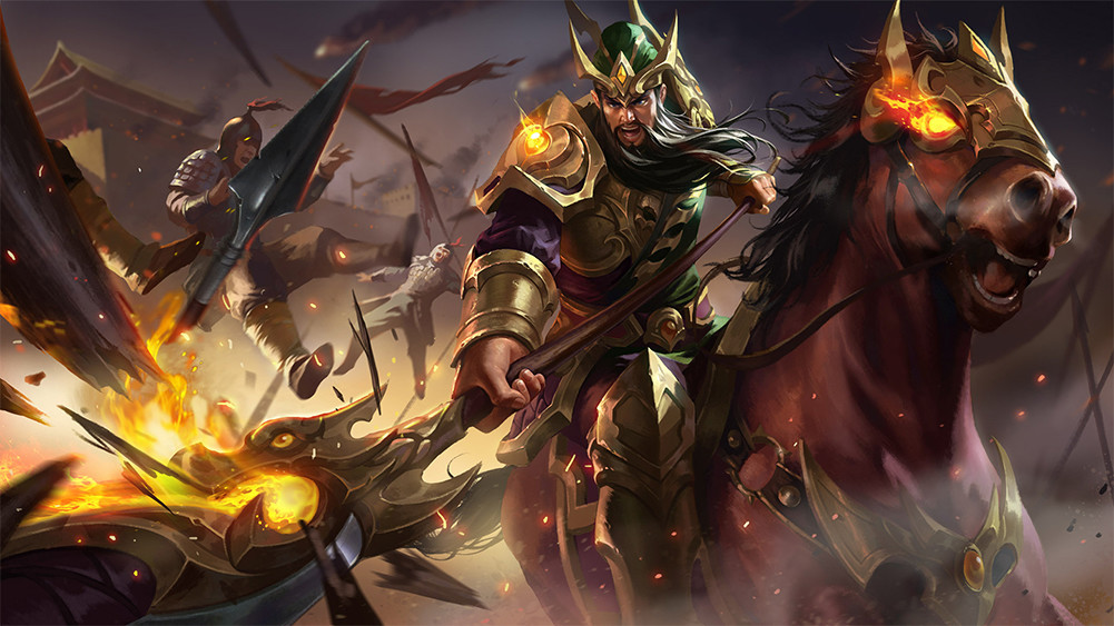Guan Yu De King Of Glory