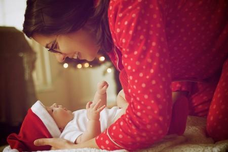 Navidad Bebe Mama