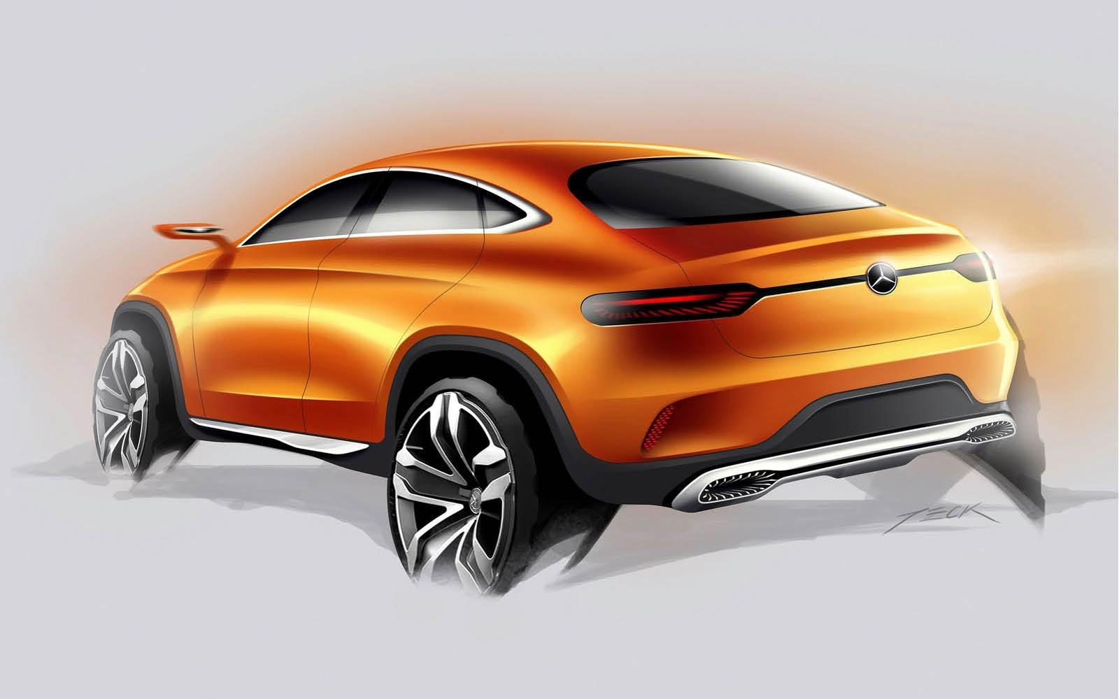 Foto de Mercedes-Benz Coupé SUV Concept (29/30)
