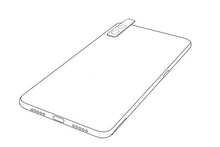 La nueva patente de Xiaomi revela un móvil con cámara trasera modular, para selfies (o lo que quieras)