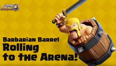 Clash Royale: mañana podrás conseguir el Barril de Bárbaro antes que nadie