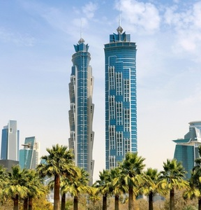 Abre en Dubai el hotel más alto del mundo