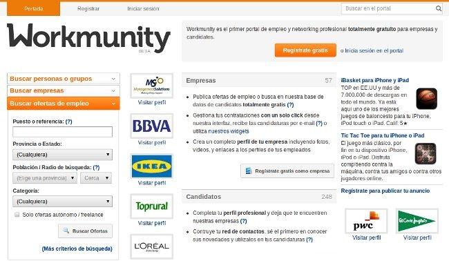 Workmunity, un servicio prometedor que mezcla portal de empleo y networking